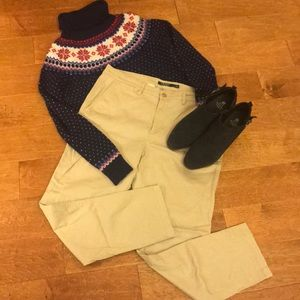 Lauren Ralph Lauren Size 12 Khaki Pants